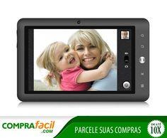 Tablet coby de R$599,00 por R$349,90