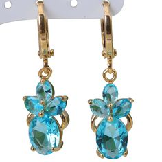 Find More Drop Earrings Information about Drop dangle earrings 18K Yellow gold plated Sky Blue Earrings for woman Sapphire Fashion Jewelry DANA E038,High Quality jewelry folder,China jewelry resale Suppliers, Cheap jewelry buddha from Dana Jewelry Co., Ltd. on Aliexpress.com