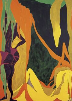 Chris Ofili, The Raising of Lazarus, 2007.