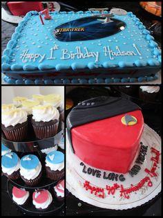 Star Trek Cake Ideas!