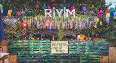 Re:Fresh Your Mind Bühne @ Museumsuferfest 2015  (Dekoration von Skailine am Main)