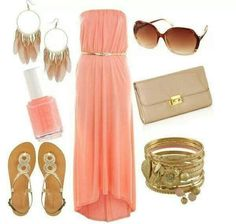 Perfect pink and gold