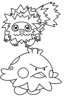 Dibujos para Colorear Pokemon 4  Dibujos para colorear para nios