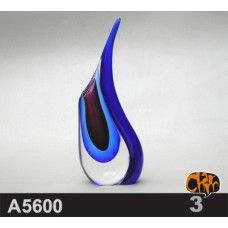 Size: 10.6X5.5X26cm Material: Murano glass Description: All of our glass crafts are true hand blown. They are different from the other glass crafts which are made by machine. Our glass crafts are handicraft in its true sense. Our products are international certified, they are controled in the standard quality field. Now we have some stocks to sell,and the real products will look exactly the same as photos.