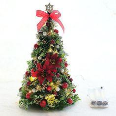 二階堂智子オリジナルデザイン。【高島屋限定】オリジナルクリスマスツリー S(LEDライト付)