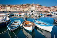 Isola d'Elba: piccole e grandi imbarcazioni #isola #elba #toscana