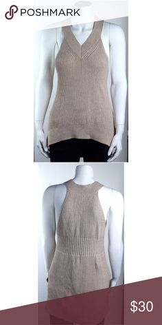 All Saints Sweater Size Small Sleeveless Beige Item has no visible flaws All Saints Tops Tank Tops