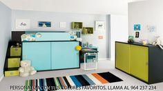 Dormitorios Infantiles HABITAT 111. Decoración Beltrán, tu tienda online en mobiliario juvenil e infantil. Puedes encontrarlo en www.decoracionymadera.com