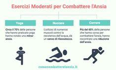 Esercizi moderati contro l'ansia E Sport, Yoga