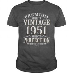 66th Funny Anniversary Gifts Ideas Aged Premium Quality Vintage 1951 Perfection Limited Edition