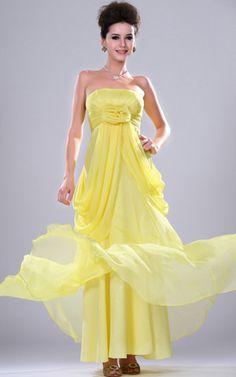 Ärmellos klassisches Chiffon Abendkleid/ Ballkleid mit Tüll.Für weitere Informationen, besuchen Sie: http://www.emodeshop.de/abendkleider-d12