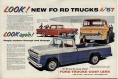 1957 Ford Truck Ad