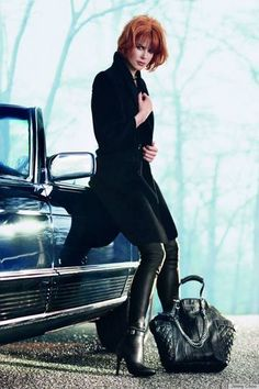 Nicole Kidman's Jimmy Choo Campaign Unveiled - Marie Claire Magazine - Yahoo!7 Lifestyle