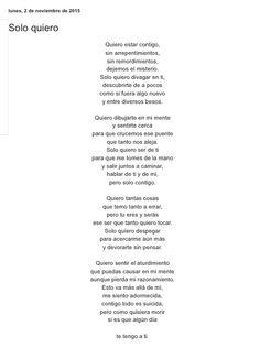 Solo quiero por Diana García Botero