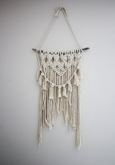 macrame wall hanging by thecraftingrachel on Etsy