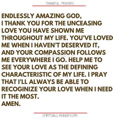 Here's a great batch of 30 thankful prayers for you. We are given so much, often times we focus on what we don't have or what we want, instead of being thankful for all that we have. These 30 short prayers will help you foster a thankful heart. Prayer For Wife, Prayer Of Thanks, Prayer For Guidance, Prayer For You, Faith Prayer, God Prayer, Thankful Prayers, Prayers Of Gratitude, Short Prayers