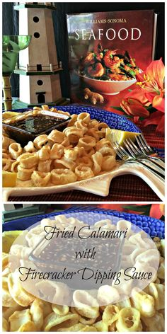 Fried Calamari with Firecracker Dipping Sauce ~ an inexpensive and restaurant quality appetizer you make in your own home. It's out of the everyday delicious!