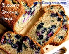 Manila Spoon: Blueberry-Zucchini Bread - so moist and scrumptious! It's as yummy as it looks! :)