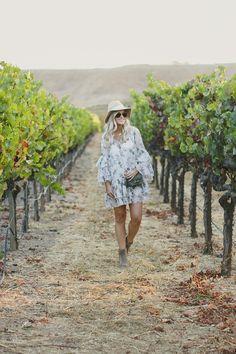 #NorthernCalifornia #California #Ontheroad #Road #Napa #Dress #Hat #Furlabag #Purse #Booties #Sunglasses #RayBans #Vineyard #Wine #Grapes #Carmel #BigSur #Monterey #Inspiration #Travel #TravelGuide #FUN #Fashion #FashionInspiration #Outfit #KatalinaGirl