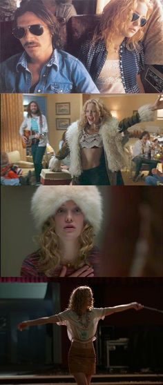 Almost Famous (2000) -- Costume Designer: Betsy Heimann captured Penny Lane's free spirit perfectly. You'd catch her dancing in the flowers at 5am, or snoozing on the tour bus of the greatest rock stars by day, and singing in the wings of the rock stadium by night. If she'd had the choice of lingerie that we do today, she'd undoubtedly have chosen Made by Niki's SS14 'Almost Famous' collection, which mixes festival chic with sex-bomb allure. Click the link!