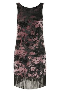 velvet tunic dress / topshop