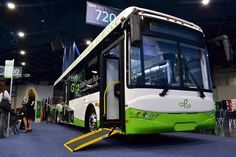 GreenPower Motor Company has released its flagship EV350 transit bus last year. As it turns out, the EV350 is in many ways similar to the Tesla Model S.