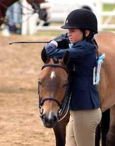 Nothing comes between a girl and her pony.