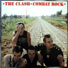 "My joint favourite, along with the self-titled album. First time I listened to Combat Rock I didn't ""get"" it at all, but somehow it grew on me!"