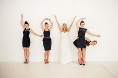 Creative Photos with the Bridesmaids | Confetti.co.uk