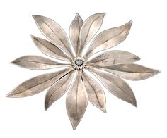 A member of the elite jewelers of Taxco, Antonio Pineda made this brooch c. 1955.