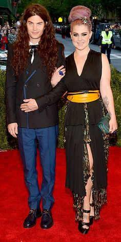 Kelly Osbourne and Matthew Mosshart-on the fence with this-it's not terrible....