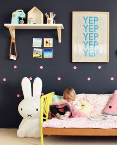Miffy Night Light - Kids room decor, nursery decor - www.ivycabin.com