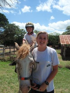 Learning to ride at Camp Fire's Camp El Tesoro