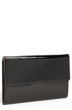 Halogen® Patent Leather Clutch available at #Nordstrom