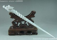 Exquisite-ancient-Chinese-white-jade-carving-phoenix-hairpin-Hair-Sticks