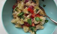 Chef Giorgio Locatelli's panzanella recipe.