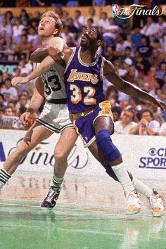 Larry Bird vs Magic Johnson - Finals! Those were always epic games!