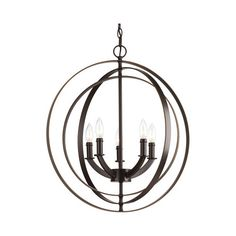 Found it at AllModern - Morganti 5 Light Candle-Style Chandelier