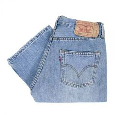 Levi's 501 Stonewash Blue Jeans 005010113 ($86) ❤ liked on Polyvore featuring jeans, stone washed jeans, levi jeans, blue jeans and stonewash jeans