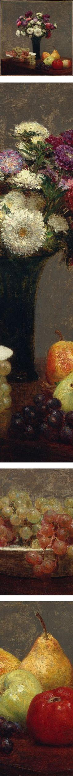 Eye Candy for Today: Fantin-Latour asters and fruit