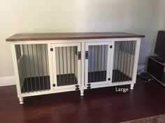 Double Large Dog Kennel