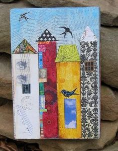 city life, super cute - scrapbook paper art project?? by fay