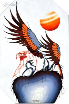 You Have To Fly Native American Paintings, Native American Artists, Half Sleeve Tattoos Sketches, Minions, Native Canadian, Indian Artwork, Black Love Art, Feather Painting, American Indian Art