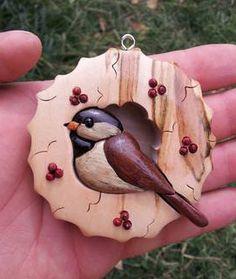 Chickafee ornament