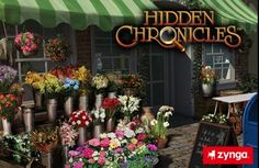 Play Zynga's hidden object game, Hidden Chronicles!  Click on the image to start playing!