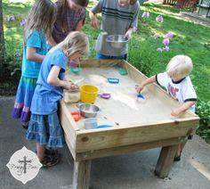18 Kid Friendly DIYu0027s Theyu0027ll Love Idea Box By Gretchen. Sand TableWater ...
