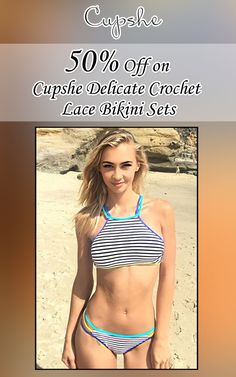 Get upto 50% discount on cupshe delicate crochet lace bikini sets from cupshe.com by using this Cupshe Coupon  visit:  http://www.couponcutcode.com/coupons/50-off-on-cupshe-delicate-crochet-lace-bikini-sets/