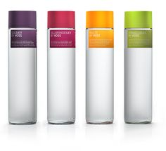 VOSS provides bottled artesian water from Norway to customers around the globe in a tall, iconic bottle design.