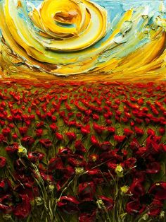 Impasto painting via its you