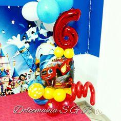 #dolcemania #palloncini #puglia #blaze #sei #six #balloons #gargano #favoleefeste #centrotavola #idea #allestimenti
